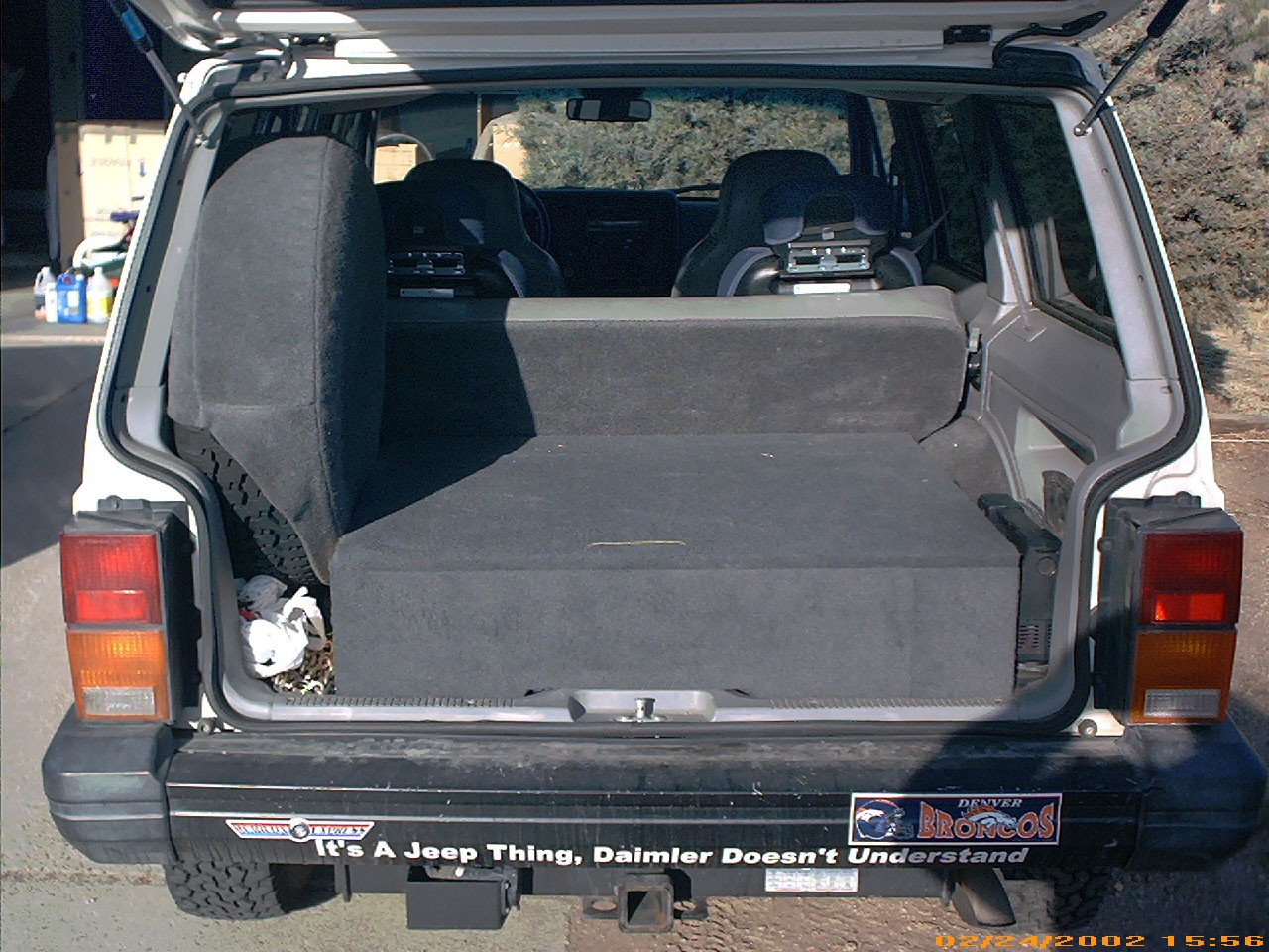 Who Has A Tuffy Drawer In The Back Of Their Xj Page 2